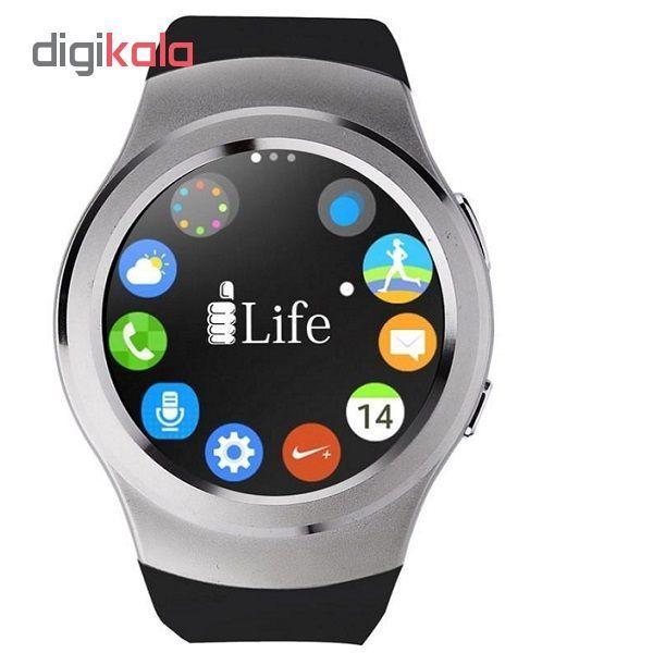 ساعت هوشمند آی لایف مدل Zed Watch R Silver main 1 8