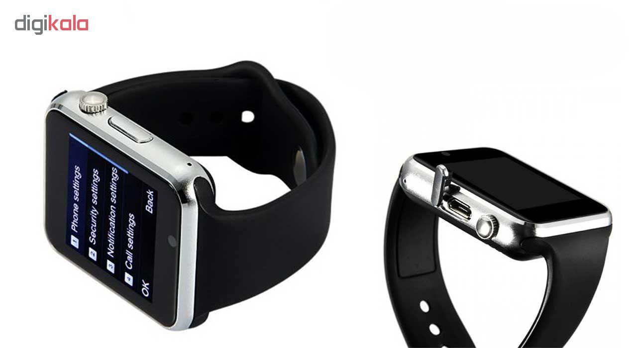 ساعت هوشمند جی تب مدل W101  همراه محافظ صفحه نمایش شیدتگ main 1 2