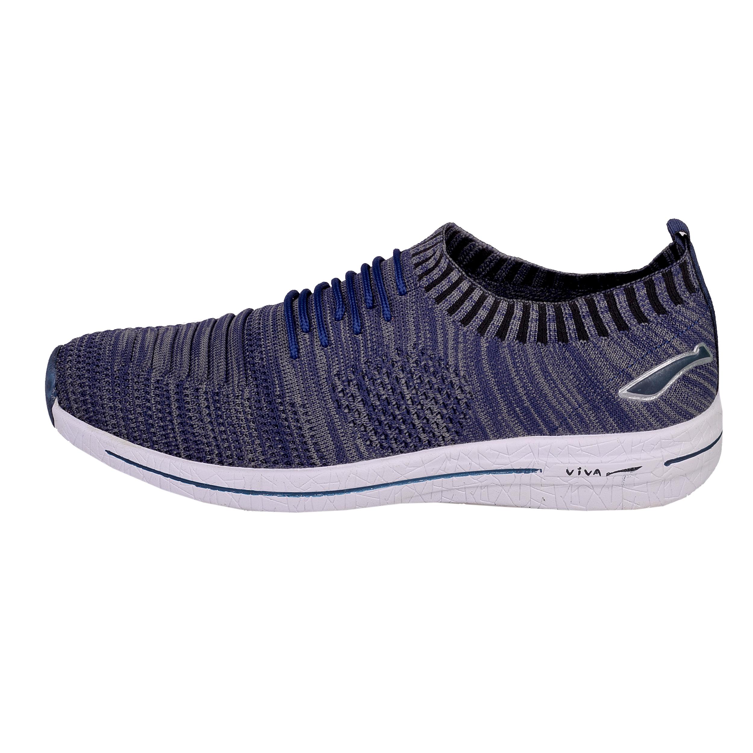 کفش مخصوص پیاده روی مردانه ویوا مدل 120 رنگ سرمه ای