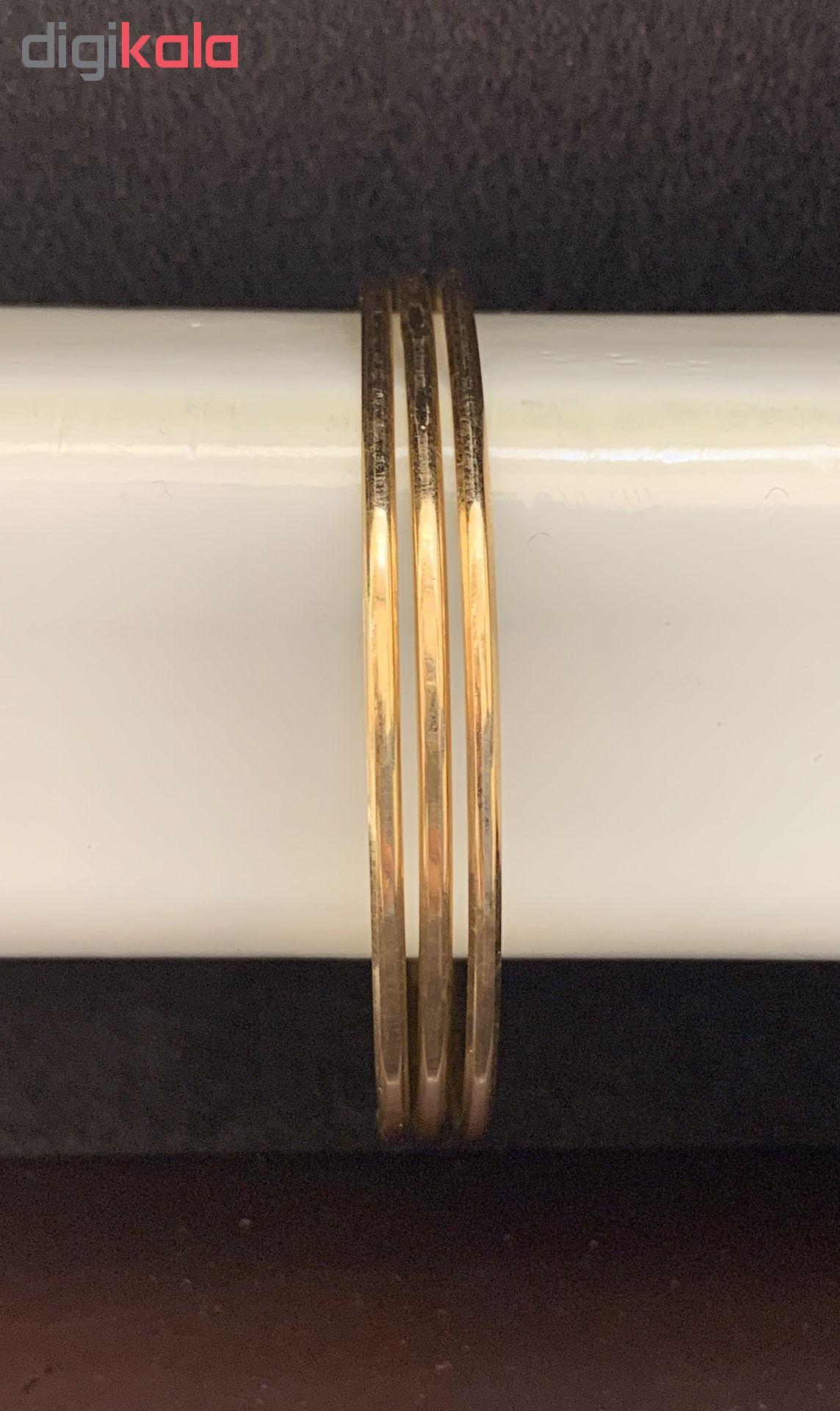النگو طلا 18 عیار گوی گالری مدل G262