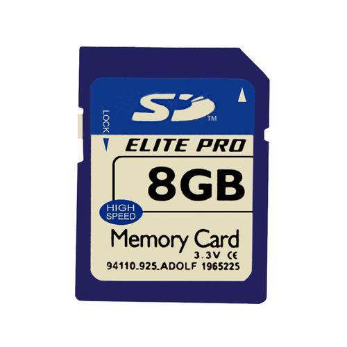 کارت حافظه SDXC الیت پرو مدل IPM کلاس 10استاندارد u3 سرعت 80MBps ظرفیت 8 گیگابایت