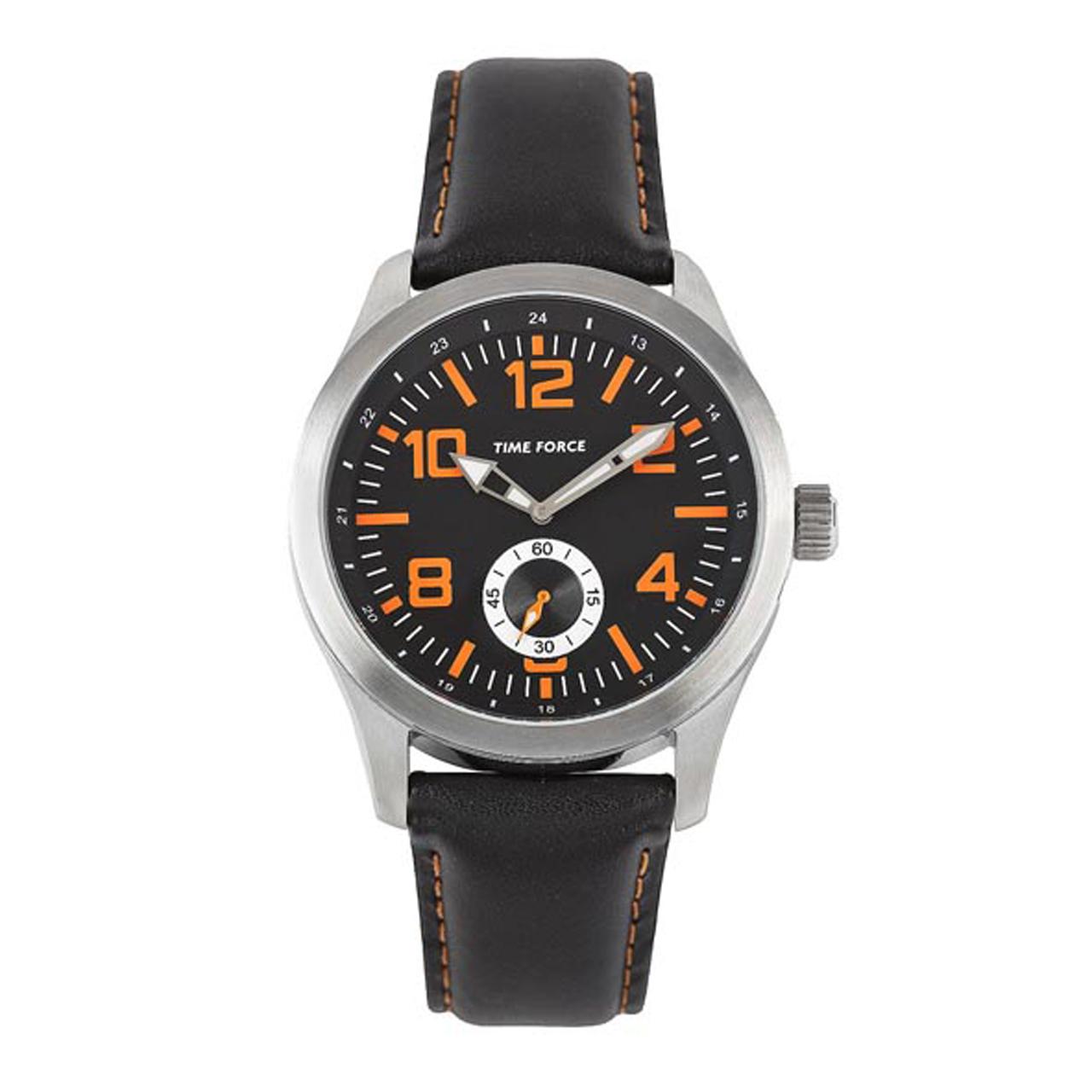 ساعت مچی عقربه ای مردانه تایم فورس مدل TF3367M12