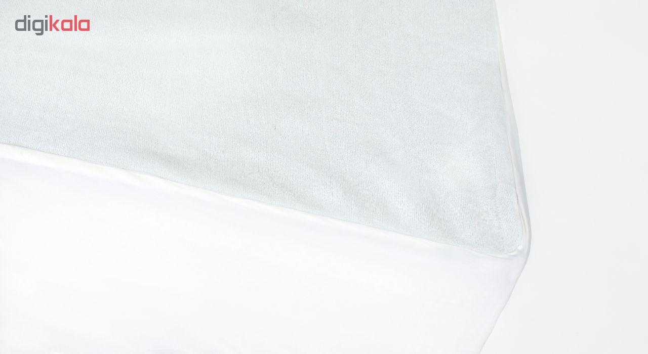 تشک ژینورا مدل Gynura Bonnel دو نفره سایز 200×160 سانتیمتر به همراه محافظ تشک main 1 5