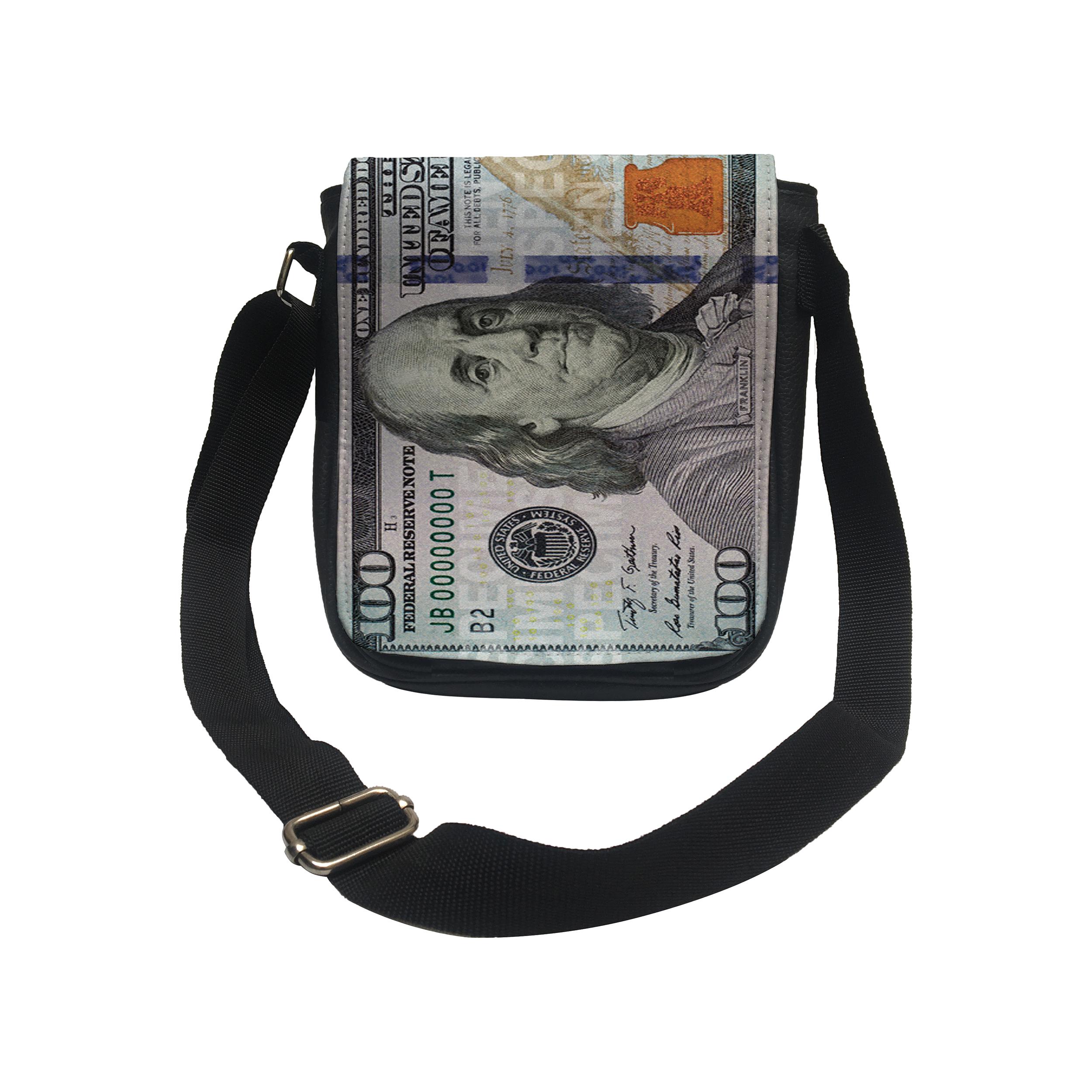 کیف رودوشی طرح دلار کد k112