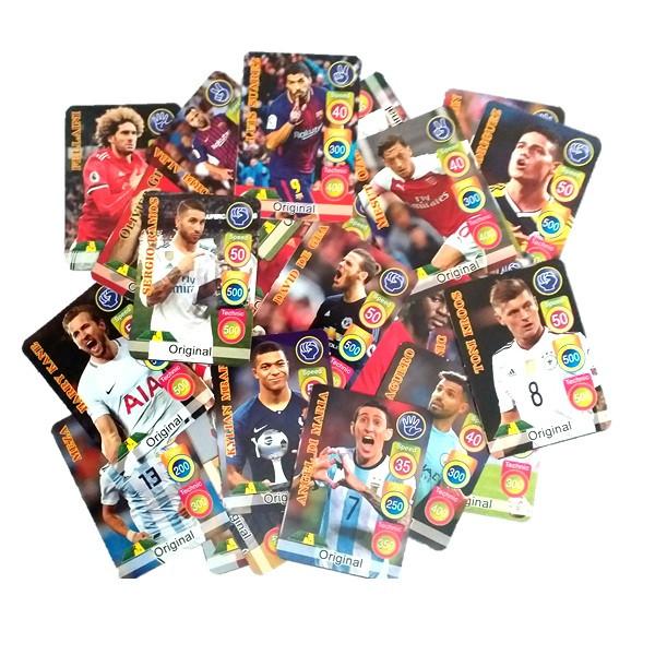 کارت بازی فکری طرح فوتبال مدل FIFA WORLD CUP RUS بسته ۱۶ عددی