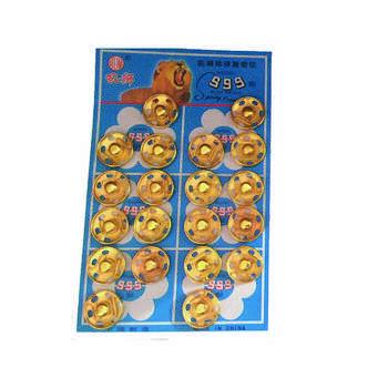 دکمه قابلمه ای کد 555 مدل t420 بسته 20 عددی