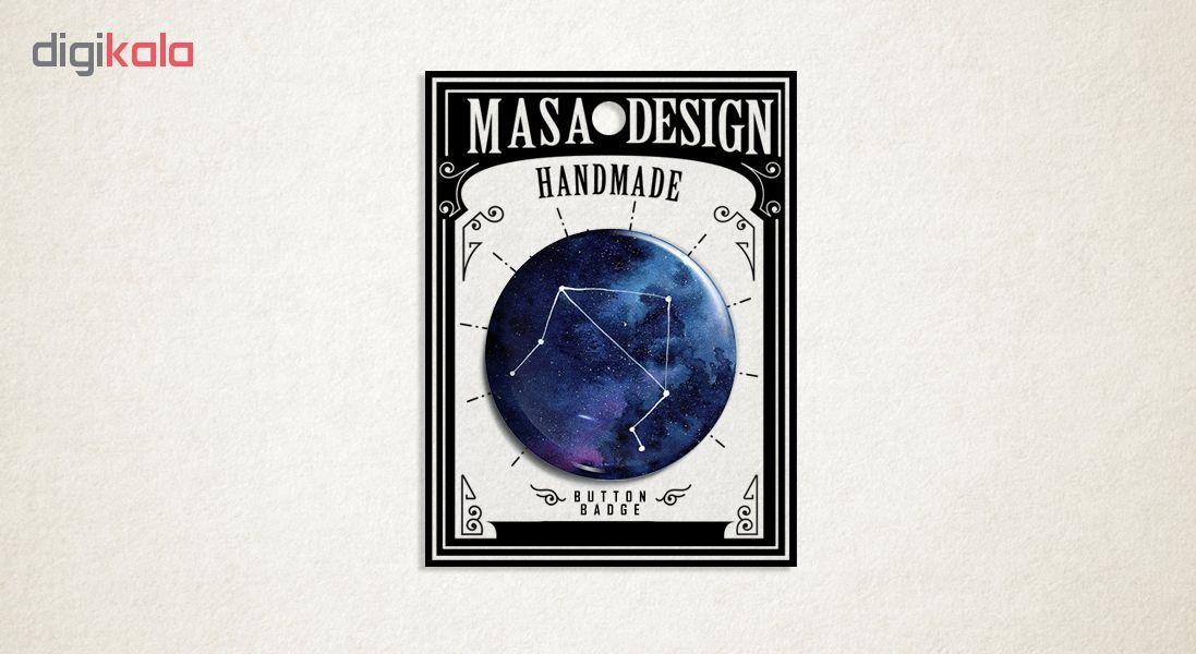 پیکسل ماسا دیزاین طرح ماه تولد مهر کد ASZ7 main 1 1