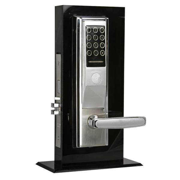 دستگیره هوشمند ( قفل الکترونیکی - قفل آپارتمانی) ایمن آشیانه راست بازشو مدل IA200-8R