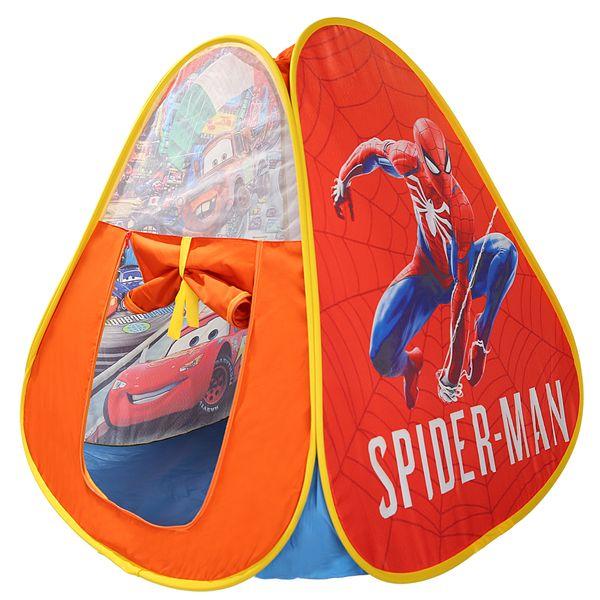چادر کودک طرح McQueen & spiderman کد 003
