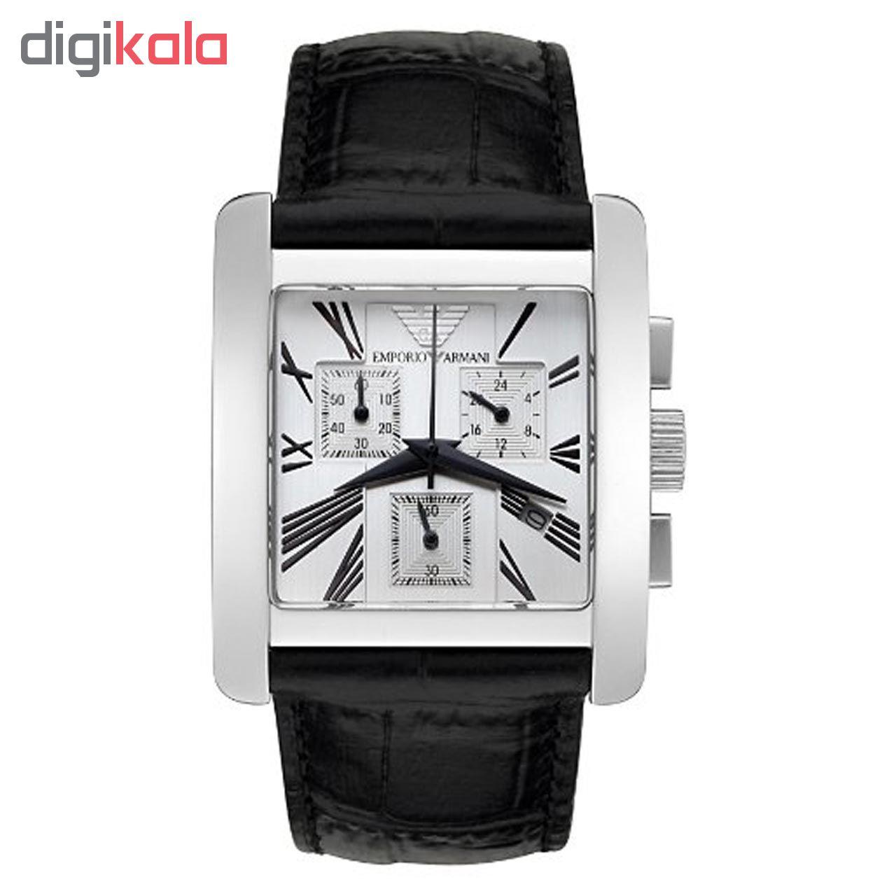 خرید ساعت مچی عقربه ای مردانه امپریو آرمانی مدل AR0187
