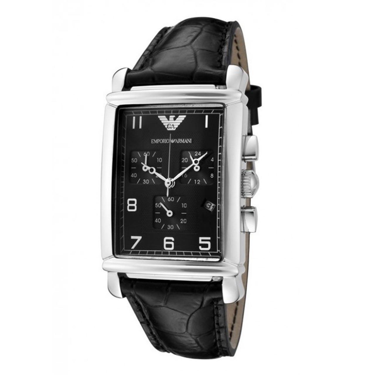 ساعت مچی عقربه ای مردانه امپریو آرمانی مدل AR0292