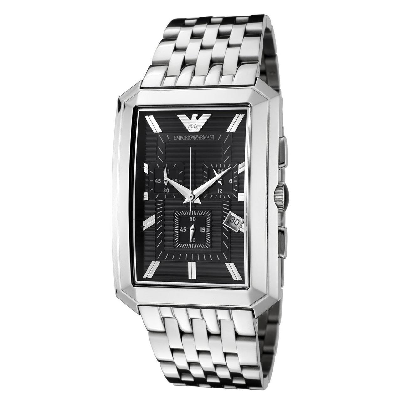 ساعت مچی عقربه ای مردانه امپریو آرمانی مدل AR0474