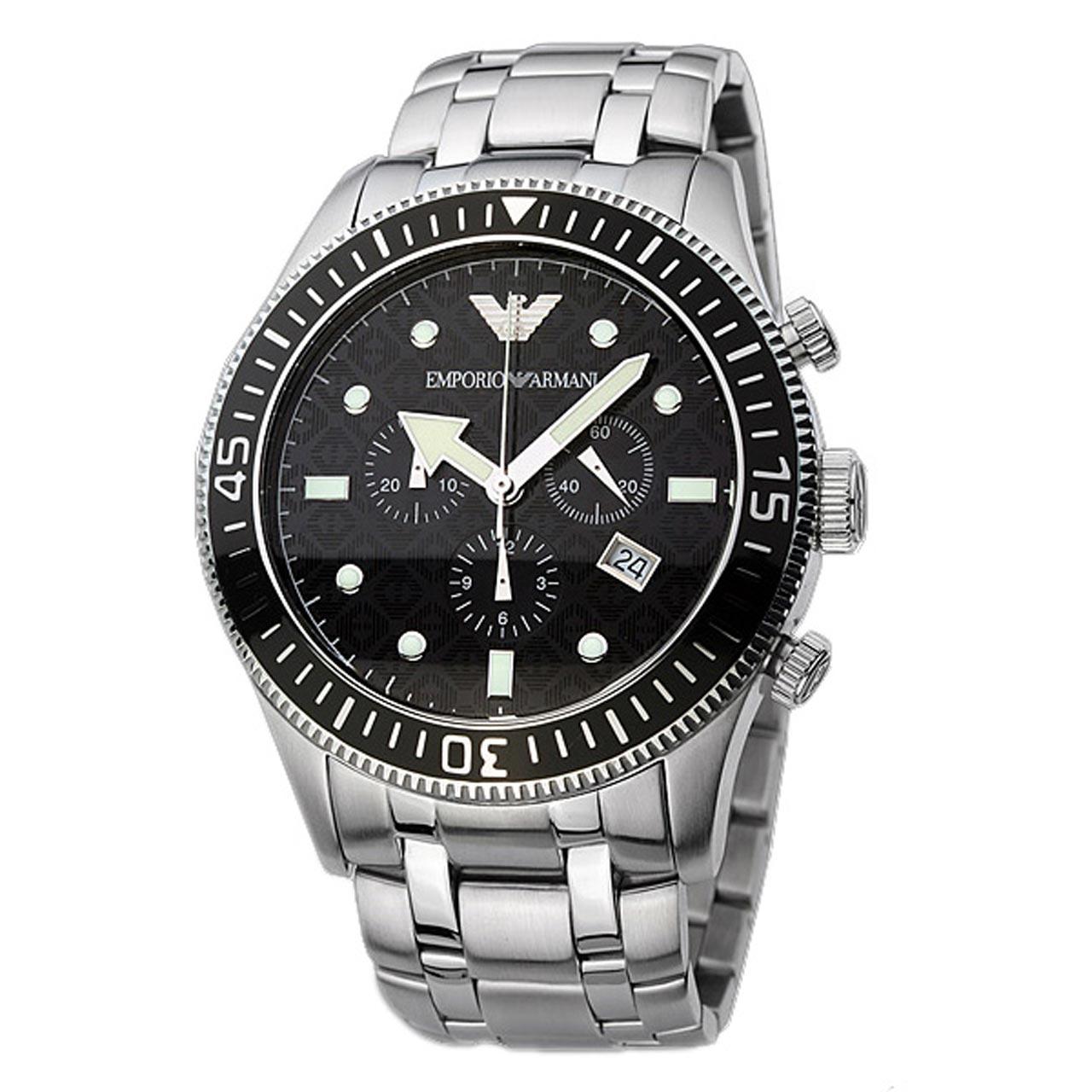 ساعت مچی عقربه ای مردانه امپریو آرمانی مدل AR0553