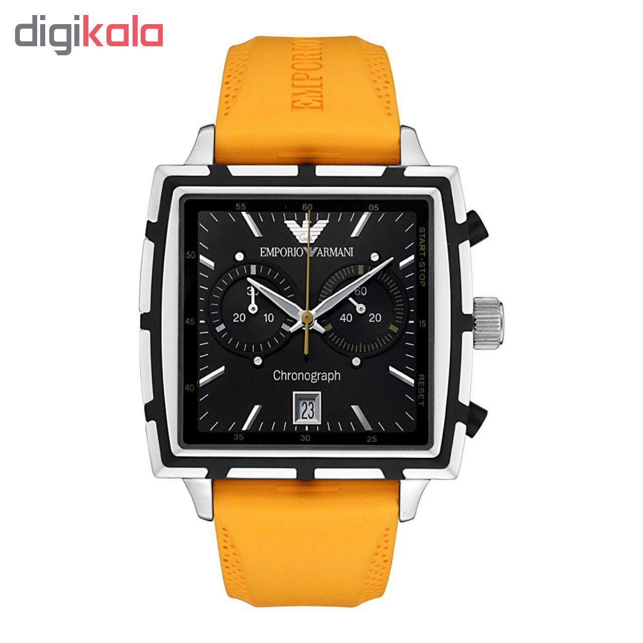 خرید ساعت مچی عقربه ای مردانه امپریو آرمانی مدل AR0594