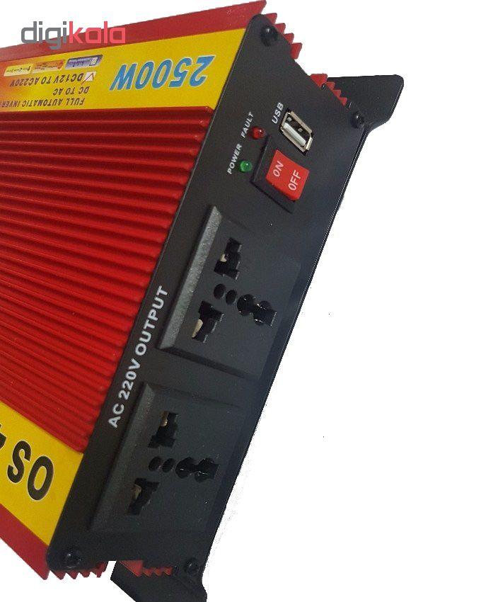 مبدل برق خودرو جی امی استار مدل 2500MSW main 1 2