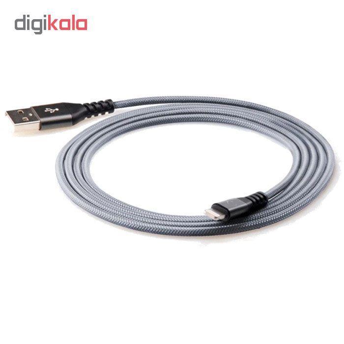 کابل تبدیل USB به لایتنینگ آیفون آی ماس مدل Armor tough طول 1.8 متر main 1 16