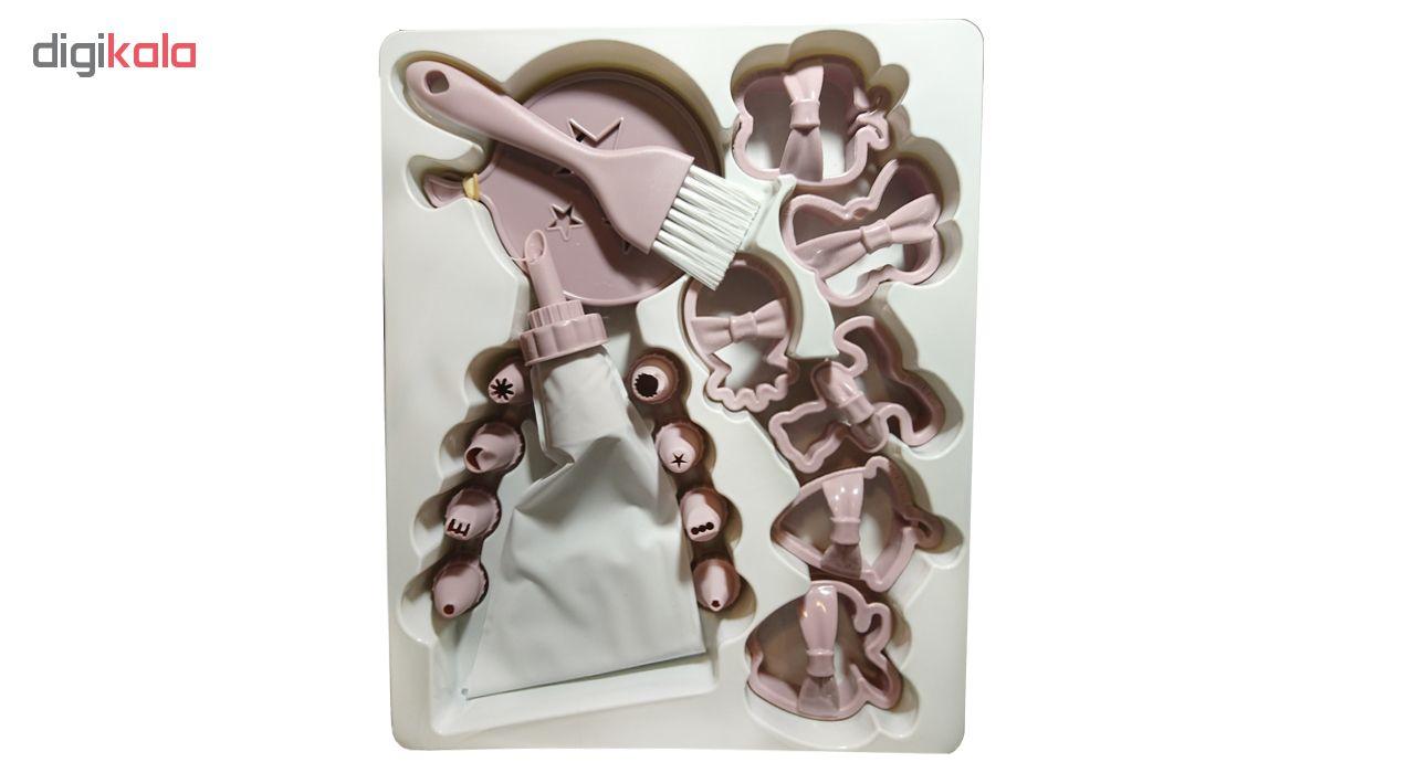 ابزار شیرینی پزی کیو لوکس مدل L_480 مجموعه 21 عددی main 1 4