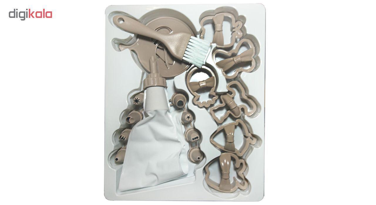 ابزار شیرینی پزی کیو لوکس مدل L_480 مجموعه 21 عددی main 1 5