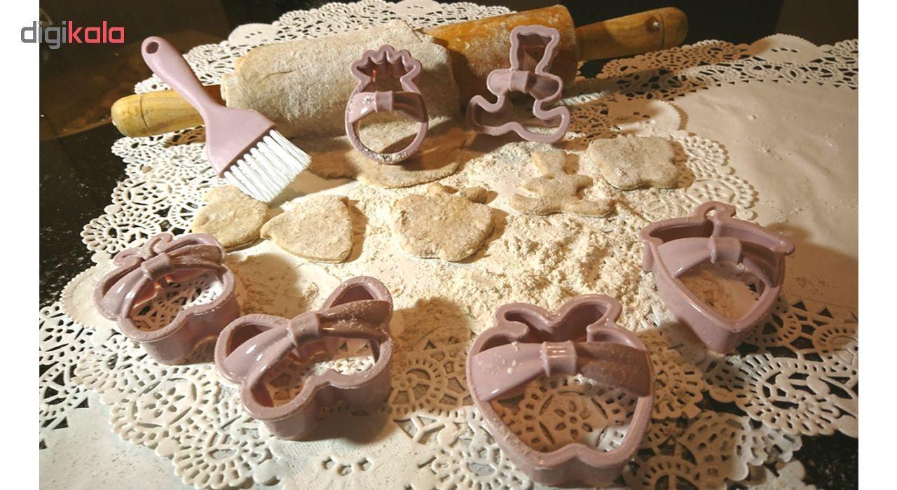 ابزار شیرینی پزی کیو لوکس مدل L_480 مجموعه 21 عددی main 1 8