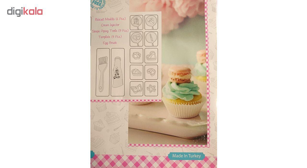 ابزار شیرینی پزی کیو لوکس مدل L_480 مجموعه 21 عددی main 1 14