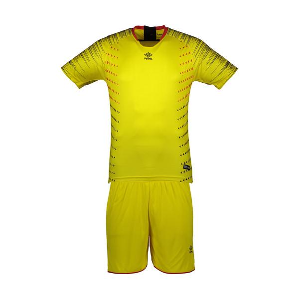 ست تی شرت و شلوارک مردانه پانیل مدل PA1104Y