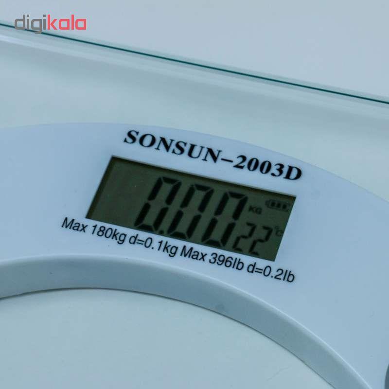 ترازو دیجیتال سان سان مدل 2003D کد 8001