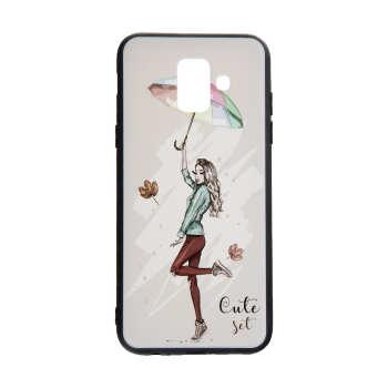 کاور مدل Beauty طرح Cute Set مناسب برای گوشی موبایل سامسونگ Galaxy J6 2018