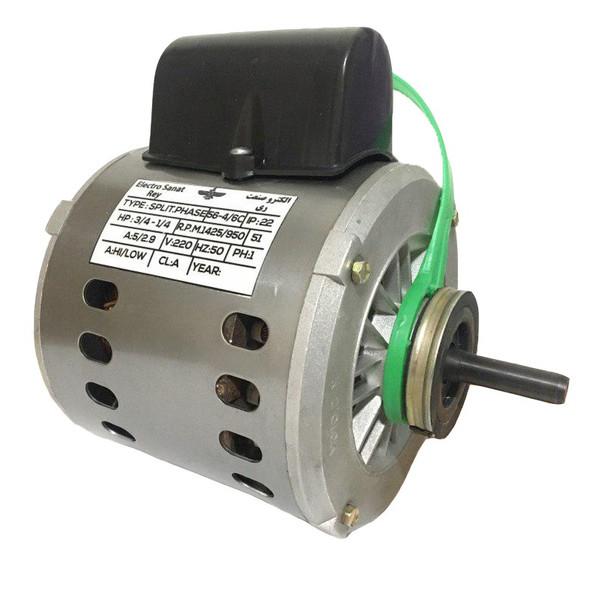 الکترو موتور کولر آبی الکتروصنعت ری مدل 3/4 A