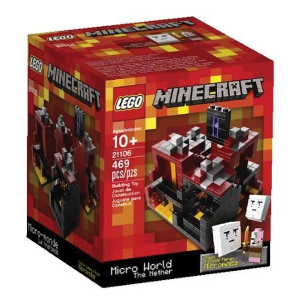 لگو سری Minecraft مدل The Nether کد 21106