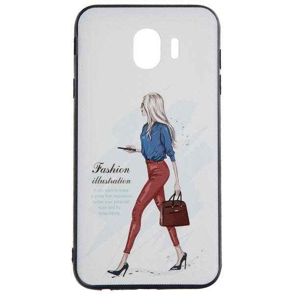 کاور مدل Beauty طرح Fashion-I مناسب برای گوشی موبایل سامسونگ Galaxy J4 2018