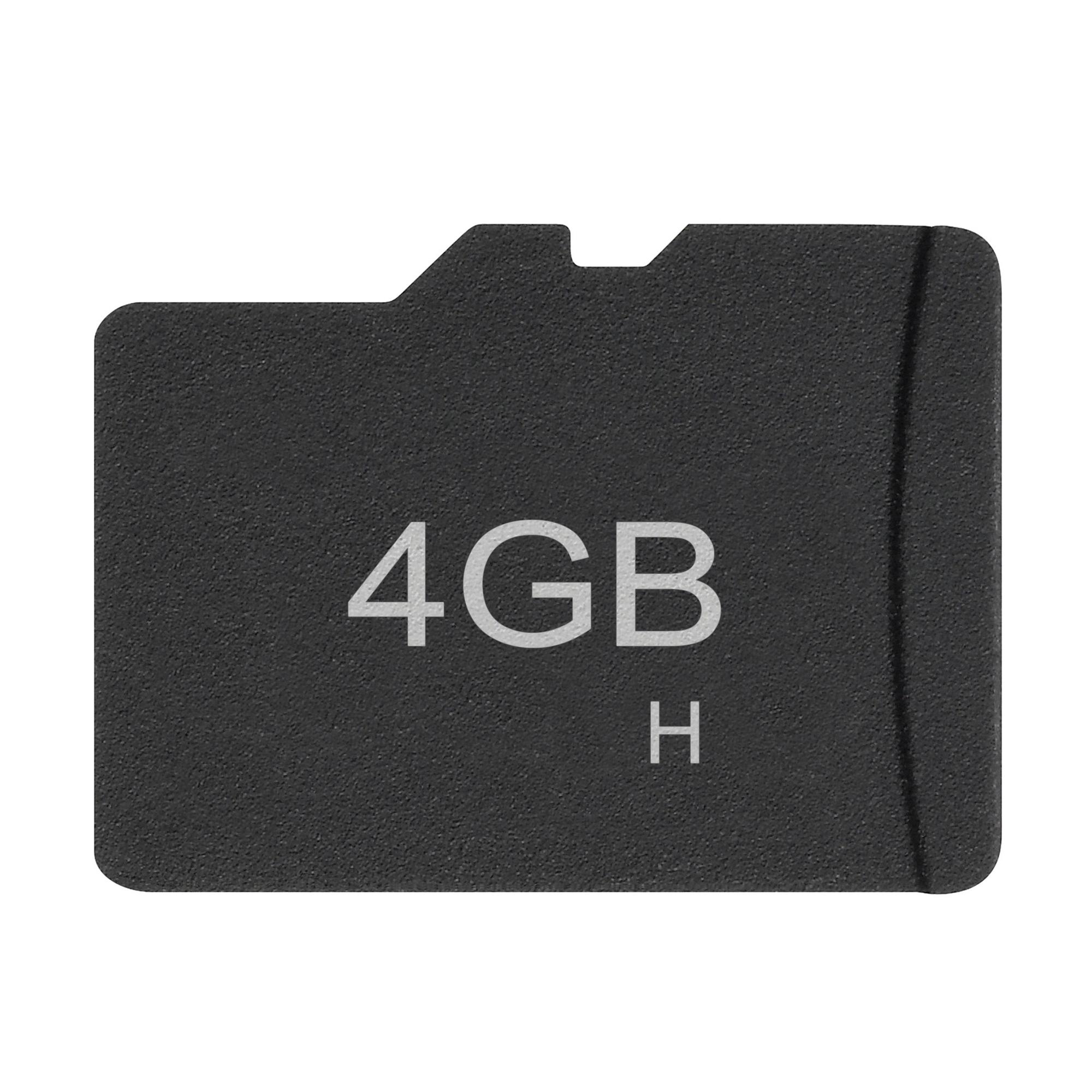 کارت حافظه microSDHC مدل PLF-Q5 کلاس 6 استاندارد UHS-I U1 سرعت 25MBps ظرفیت 4 گیگابایت