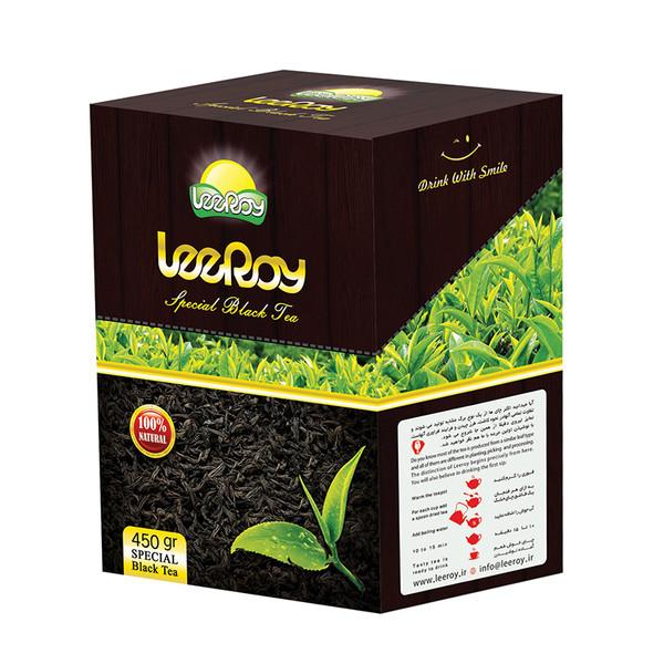 چای سیاه ممتاز لیروی مقدار 450 گرم
