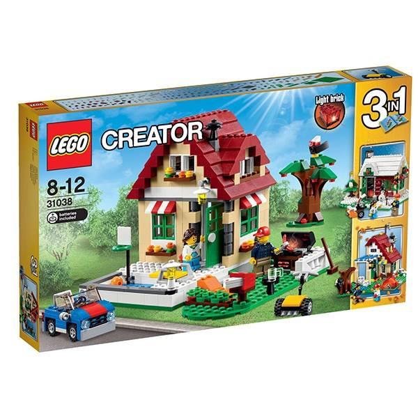 لگو سری Creator مدل تغییر فصل کد 31038