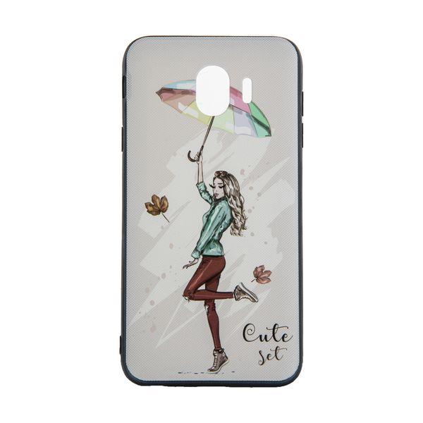 کاور مدل Beauty طرح Cute Set مناسب برای گوشی موبایل سامسونگ Galaxy J4 2018