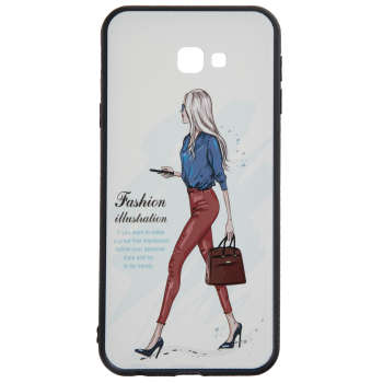 کاور مدل Beauty طرح Fashion-I مناسب برای گوشی موبایل سامسونگ Galaxy J4 Plus 2018