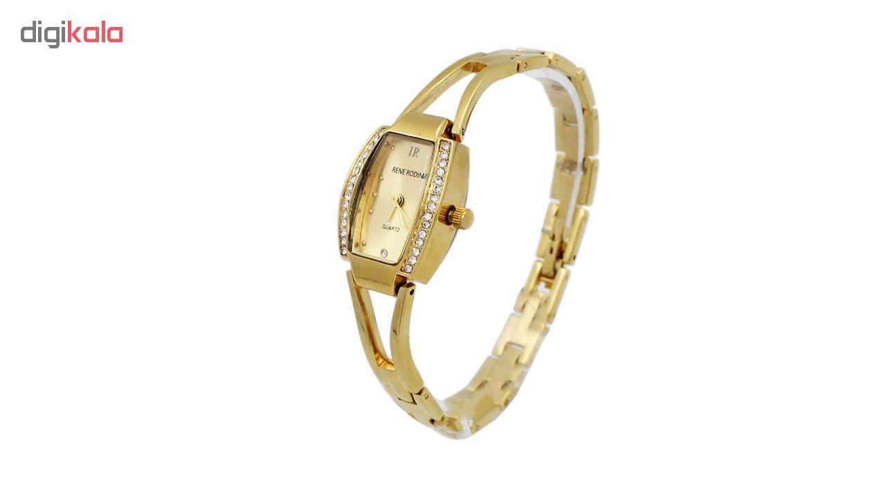 ساعت مچی عقربه ای زنانه رنه رودین مدل DGZU-0164