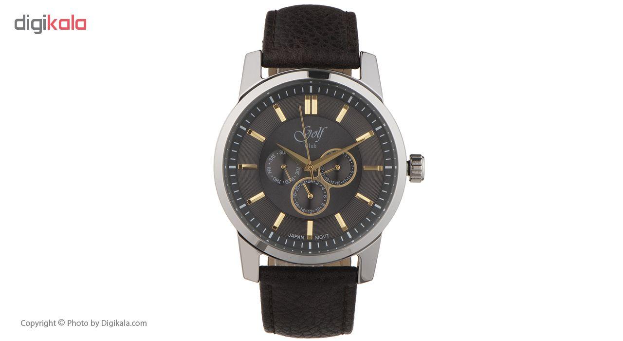 ساعت مچی عقربه ای مردانه گلف مدل 124-1