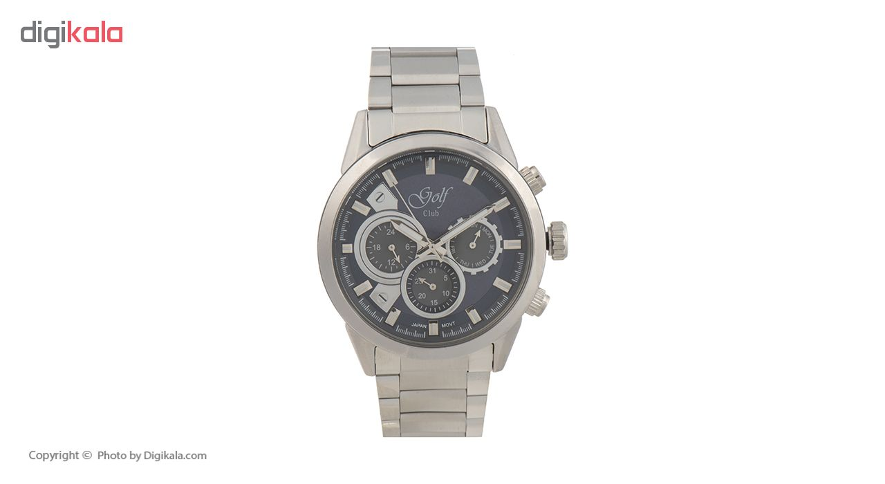 ساعت مچی عقربه ای مردانه گلف مدل 125-3