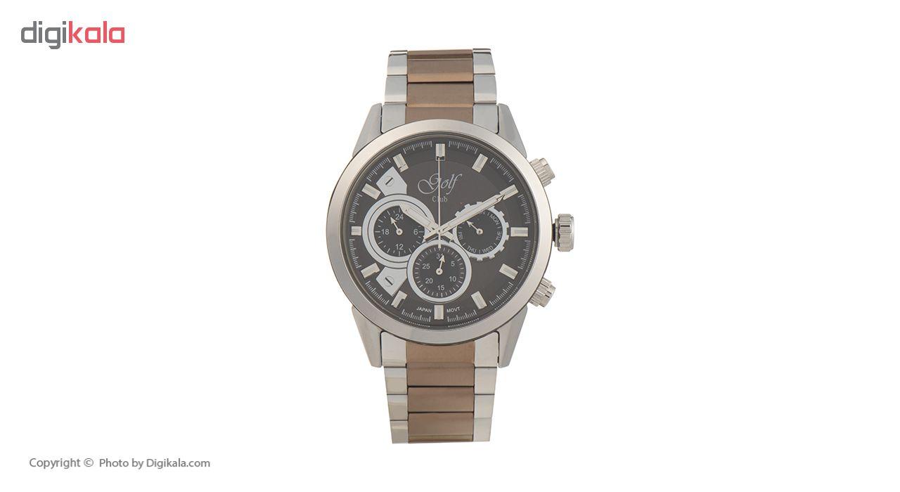 خرید ساعت مچی عقربه ای مردانه گلف کلاب مدل 125-5