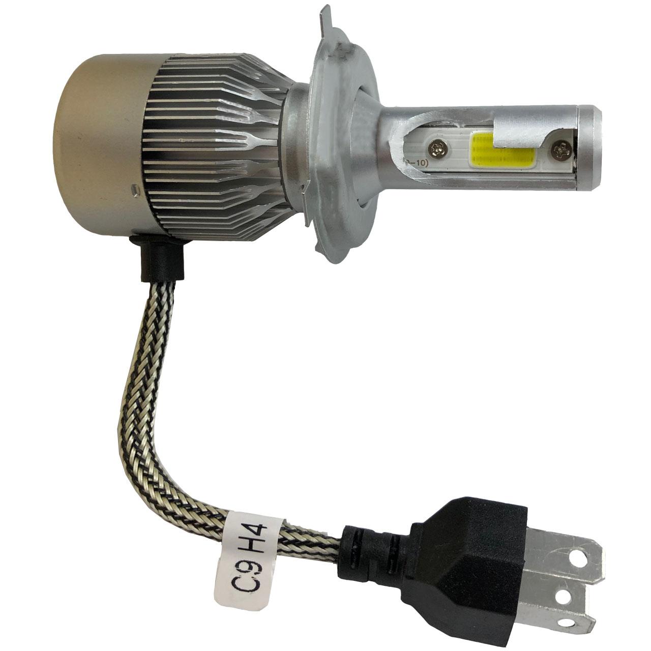 خرید اینترنتی هدلایت لامپ موتور سیکلت مدل C9