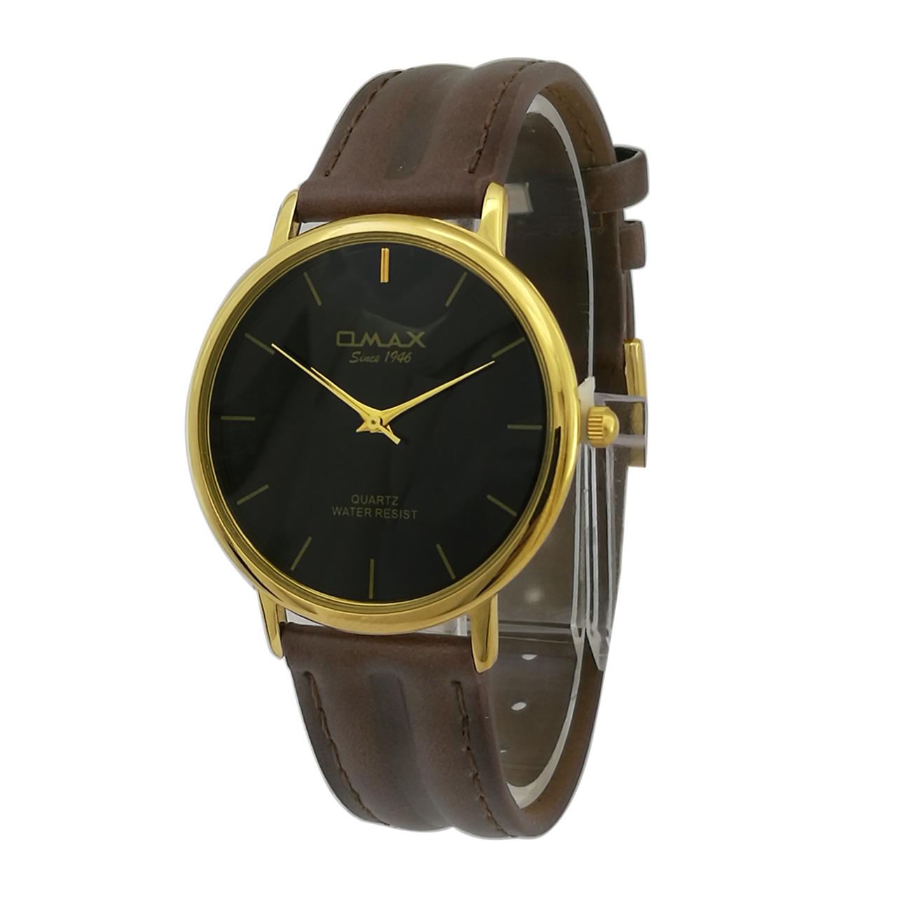 کد تخفیف                                      ساعت مچی عقربه ای مردانه اوماکس مدل sc7491g به همراه دستمال مخصوص برند کلین واچ