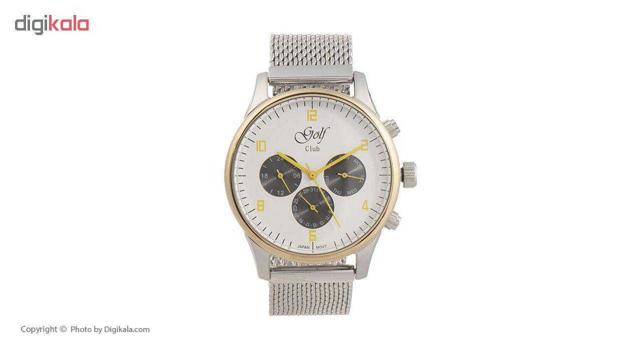 خرید ساعت مچی عقربه ای مردانه گلف مدل 123-3
