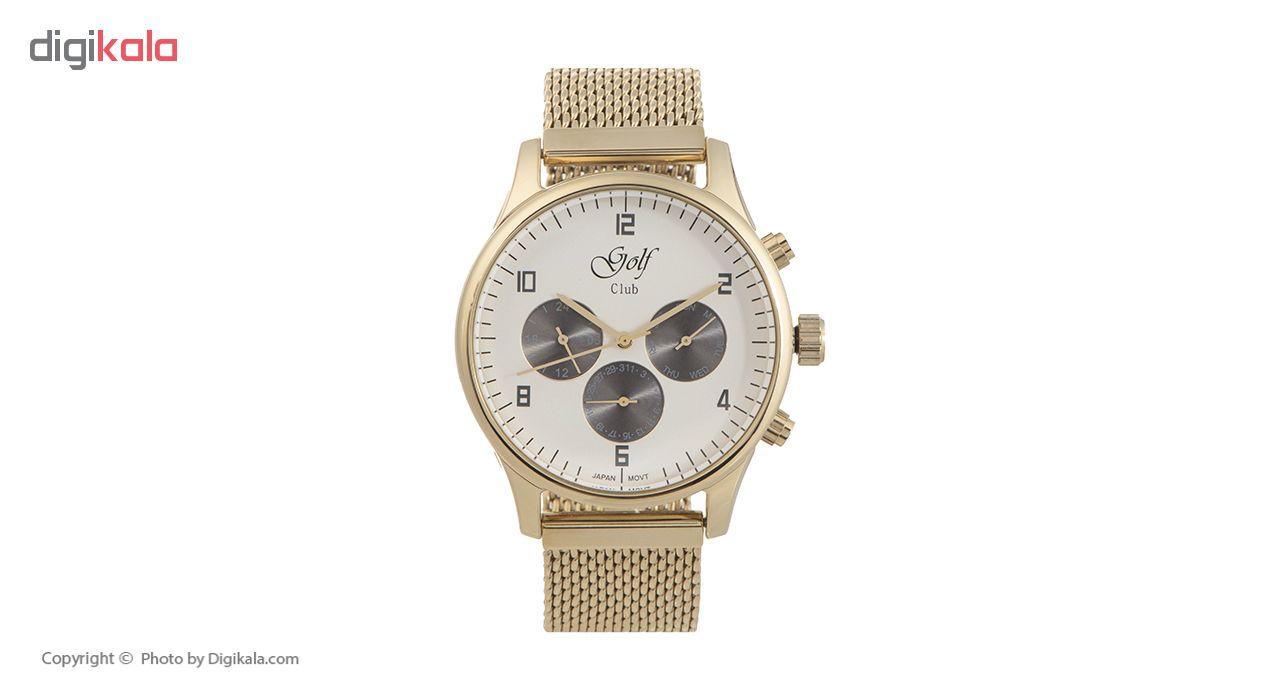 خرید ساعت مچی عقربه ای مردانه گلف مدل 123-5