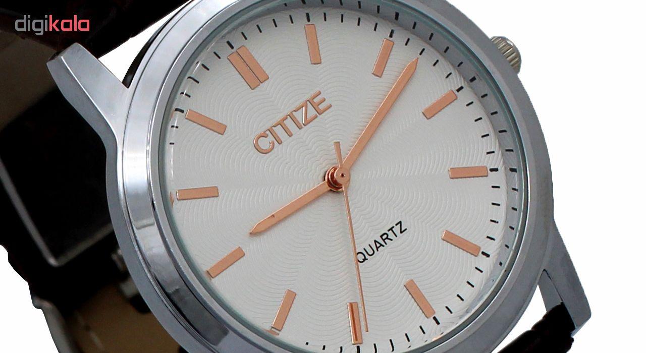 ساعت مچی عقربه ای مردانه سیتیز کد DGMU-0216