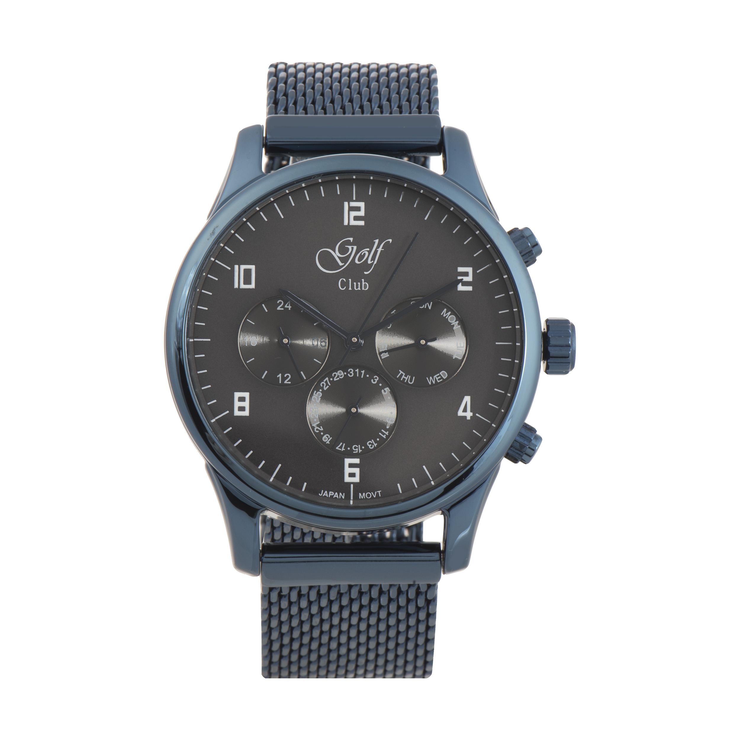 ساعت مچی عقربه ای مردانه گلف کلاب مدل 123-1
