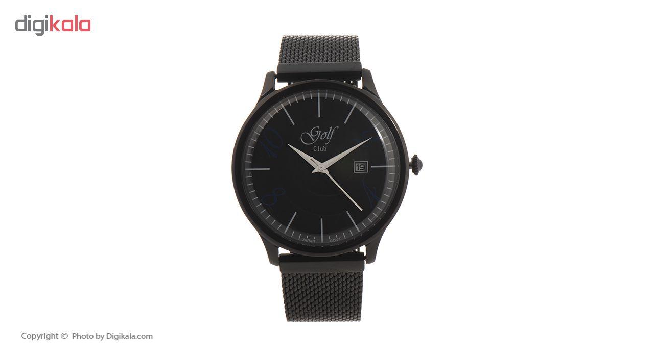 خرید ساعت مچی عقربه ای مردانه گلف کلاب مدل 121-5