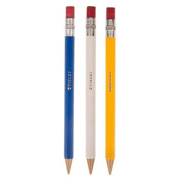 مداد نوکی 0.5 میلی متری ویولت مدل V03 مجموعه 3 عددی