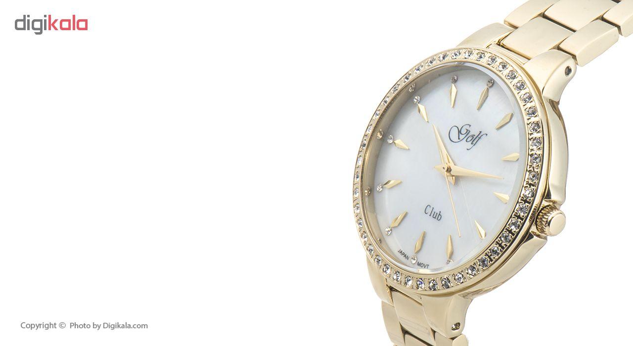 ساعت مچی عقربه ای زنانه گلف مدل 131-5