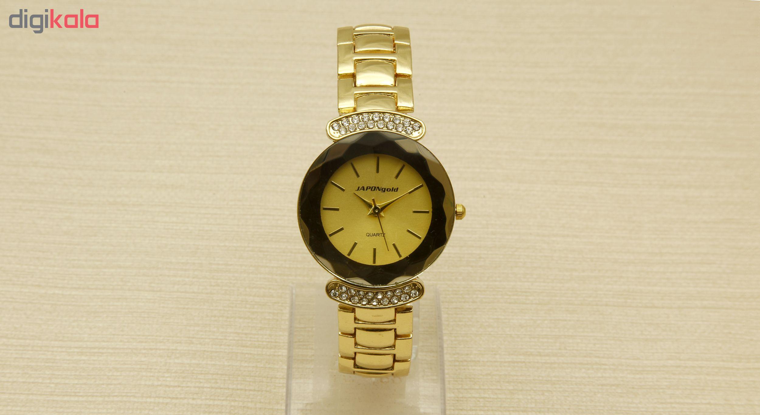 ساعت مچی عقربه ای زنانه ژاپن گلد مدل GS-P1951              خرید (⭐️⭐️⭐️)