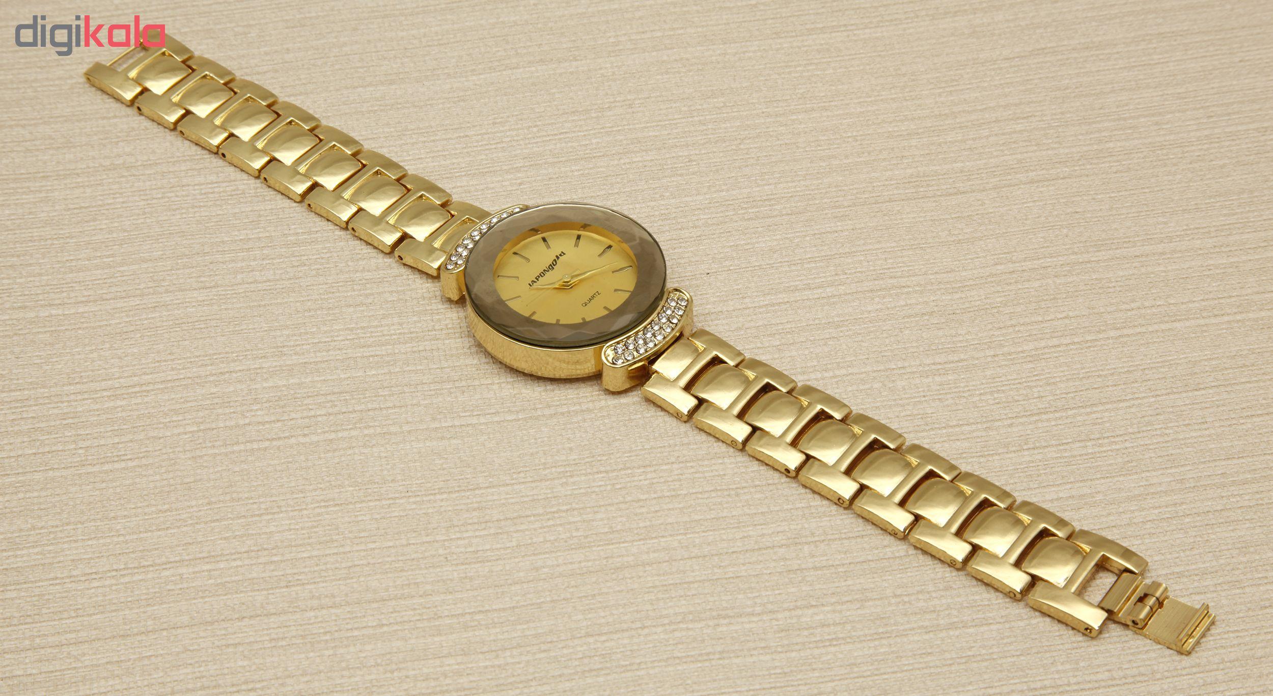 ساعت مچی عقربه ای زنانه ژاپن گلد مدل GS-P1951